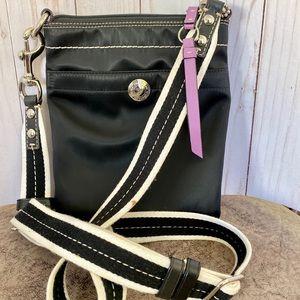 Coach Slim Nylon Sport Crossbody Bag